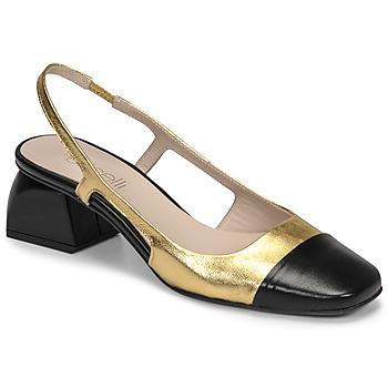 Pantofi Femei Pantofi cu toc Fericelli TOUBET Auriu / Negru
