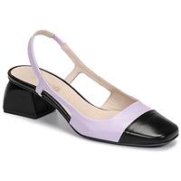 Pantofi Femei Pantofi cu toc Fericelli TOUBET Violet / Negru