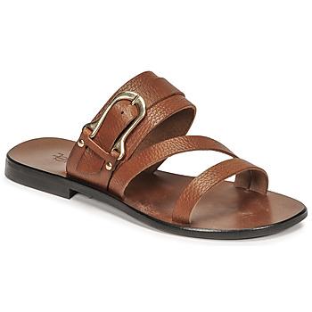 Pantofi Femei Sandale  Fericelli STAMP Camel