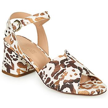 Pantofi Femei Sandale  Fericelli ONAPA Bej / Auriu