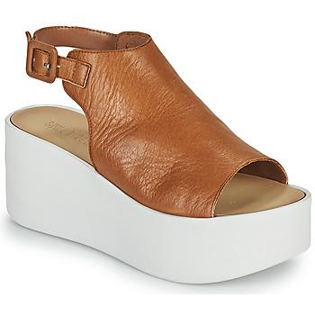 Pantofi Femei Sandale  Sweet Lemon PYTON Maro