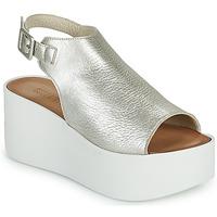 Pantofi Femei Sandale  Sweet Lemon PYTON Argintiu