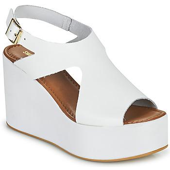 Pantofi Femei Sandale  Sweet Lemon IJOX Alb