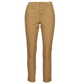 Îmbracaminte Femei Pantalon 5 buzunare Levi's SOFT CANVAS TOASTED COCONUT OD Bej