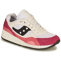 Pantofi Femei Pantofi sport Casual Saucony SHADOW 6000 Alb / Roz