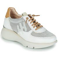 Pantofi Femei Pantofi sport Casual Hispanitas TELMA Alb / Auriu