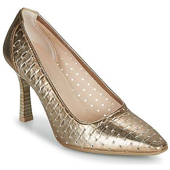 Pantofi Femei Pantofi cu toc Hispanitas FRIDA-7 Auriu