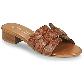Pantofi Femei Papuci de vară Hispanitas LOLA Maro