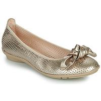 Pantofi Femei Balerin și Balerini cu curea Hispanitas CAPRI Auriu