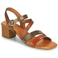 Pantofi Femei Sandale  Hispanitas OLGA Maro / Bronz