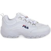 Pantofi Copii Pantofi sport Casual Fila Strada Low Junior Alb
