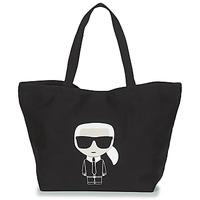 Genti Femei Sacoșe shopping și Genti shopping Karl Lagerfeld K/IKONIK KARL TOTE Negru