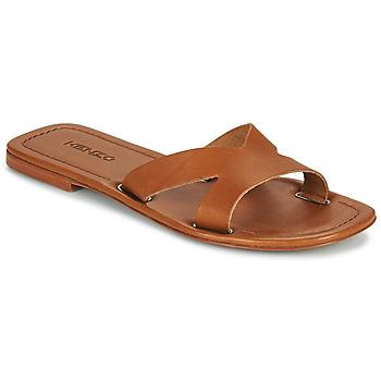 Pantofi Femei Papuci de vară Kenzo OPANKA Coniac