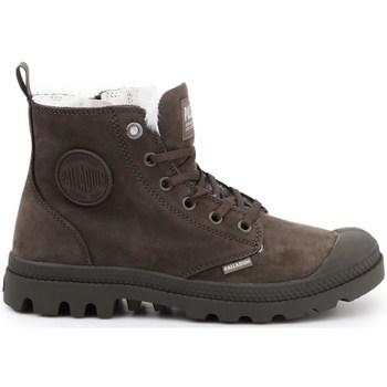 Pantofi Femei Cizme de zapadă Palladium Pampa HI Zip WL Cafenii