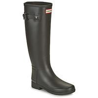 Pantofi Femei Cizme de cauciuc Hunter ORIGINAL REFINED Negru