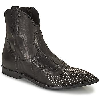 Pantofi Femei Ghete Mimmu MONTONE NERO Negru