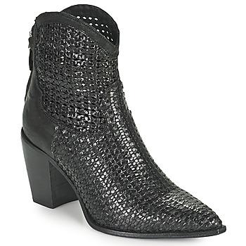 Pantofi Femei Botine Mimmu INTRECCIO NERO Negru