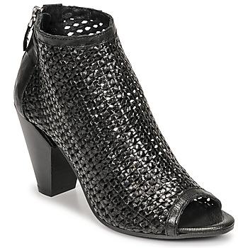 Pantofi Femei Botine Mimmu INTRECCIO-NERO-PARKER Negru