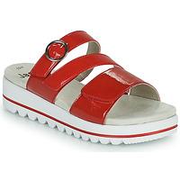 Pantofi Femei Papuci de vară Jana JANITA Roșu