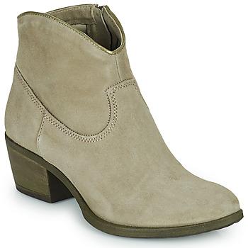 Pantofi Femei Botine Mjus DAL COLOR Bej
