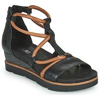 Pantofi Femei Sandale  Mjus TAPASITA Negru / Camel