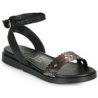 Pantofi Femei Sandale  Mjus KETTA Negru / Argintiu