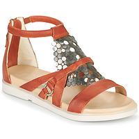 Pantofi Femei Sandale  Mjus KETTA Cărămiziu / Argintiu