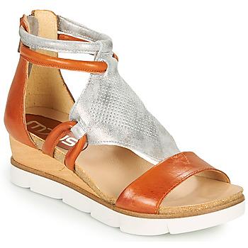 Pantofi Femei Sandale  Mjus TAPASITA Cărămiziu / Argintiu