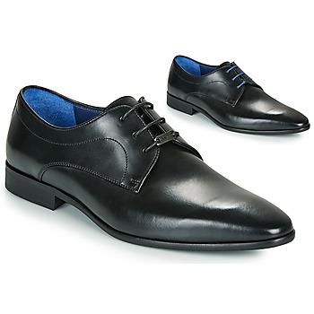 Pantofi Bărbați Pantofi Derby Azzaro VILLAGE Negru