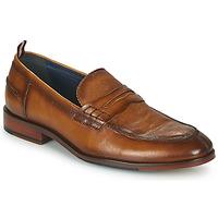 Pantofi Bărbați Mocasini Azzaro NORDEN Coniac