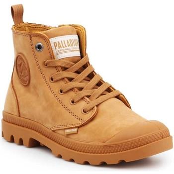 Pantofi Femei Pantofi sport stil gheata Palladium Pampa HI ZIP NBK 96440-717-M brown