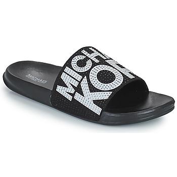 Pantofi Fete Șlapi MICHAEL Michael Kors JETT JAE Negru