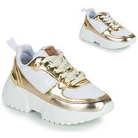 Pantofi Fete Pantofi sport Casual MICHAEL Michael Kors COSMO SPORT Alb / Auriu
