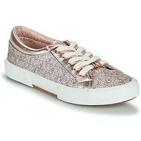 Pantofi Fete Pantofi sport Casual MICHAEL Michael Kors IMA TINSEL Roz / Gold / Argintiu
