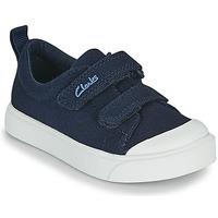 Pantofi Copii Pantofi sport Casual Clarks CITY BRIGHT T Albastru