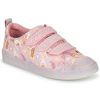Pantofi Fete Pantofi sport Casual Clarks FOXING PRINT T Roz