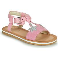 Pantofi Fete Sandale  Clarks FINCH SUMMER K Roz