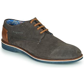 Pantofi Bărbați Pantofi Derby Bugatti MELCHIORE Gri / Culoare închisă