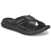 Pantofi Bărbați Șlapi Bugatti IDAHO Negru