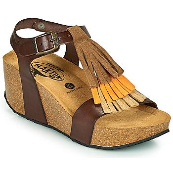 Pantofi Femei Sandale  Plakton SO TONKA Maro
