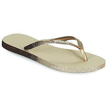 Pantofi Femei  Flip-Flops Havaianas SLIM SPARKLE II Bej