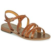 Pantofi Femei Sandale  Dream in Green OBELLA Tan
