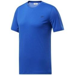 Îmbracaminte Bărbați Tricouri mânecă scurtă Reebok Sport Wor Comm Tech Tee Albastre