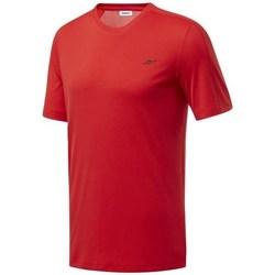 Îmbracaminte Bărbați Tricouri mânecă scurtă Reebok Sport Wor Comm Tech Tee Roșii