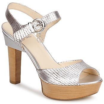 Pantofi Femei Sandale și Sandale cu talpă  joasă Fabi KAITE Argintiu