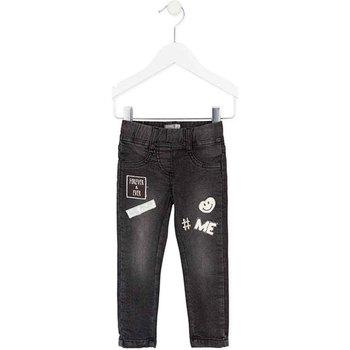 Îmbracaminte Fete Jeans slim Losan 726 6032AD Negru