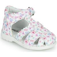 Pantofi Fete Sandale  Primigi NOEMIE Alb / Multicolor