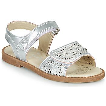 Pantofi Fete Sandale  Primigi MICHELLE Argintiu