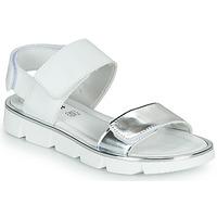 Pantofi Fete Sandale  Primigi ANNA Alb / Argintiu