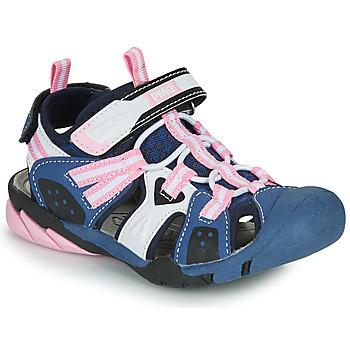 Pantofi Fete Sandale sport Primigi CAMMI Albastru / Roz